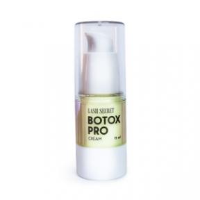 Кремовий ботокс Botox Pro Cream, LASH SECRET, 15 мл