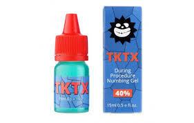 Гель анестетик для вторичної анестезії TKTX 40%